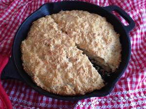 beer batter cheese skillet bread