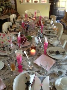the culinary tea table