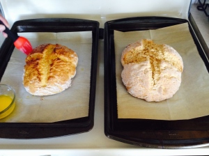 two soda breads