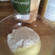 Semolina and Baker's sugar