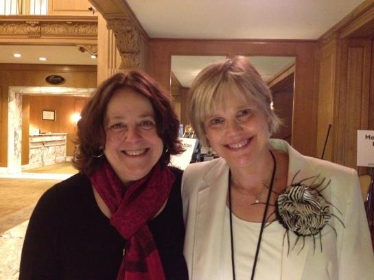Kate McDermott & I - June 2012