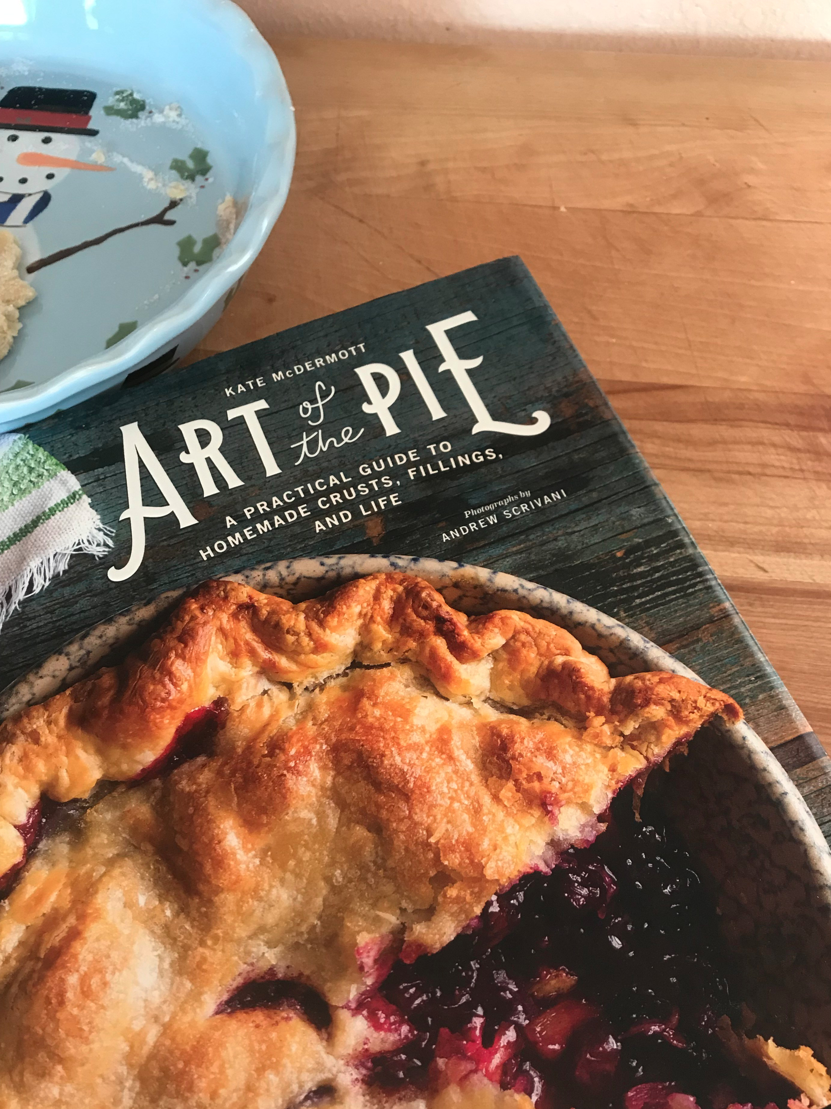 Art of the the Pie  cookbook